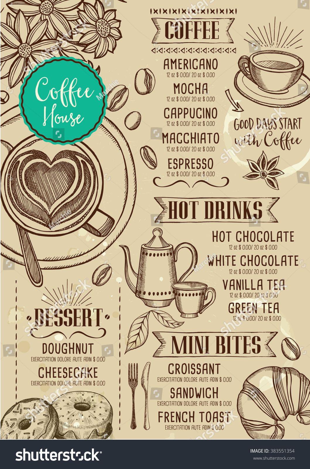 Pin by Maria Ballotti on menu   Pinterest   Coffee restaurants ...