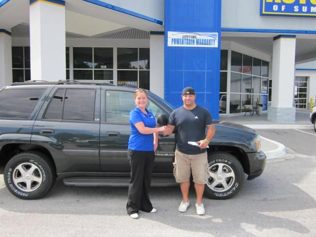 Congrats to Nick Favorite!! He is the proud owner of a 2004 Chevy Trailblazer. Welcome to the Automaxx Family :) Thank you for your business.