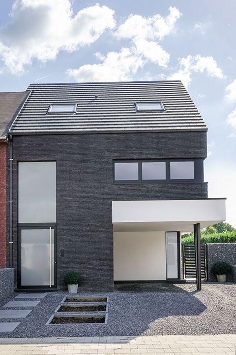 Half open bebouwing modern google zoeken huissels for Architect zoeken