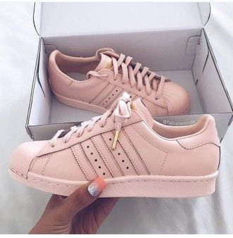 adidas superstar stan smith rose gold