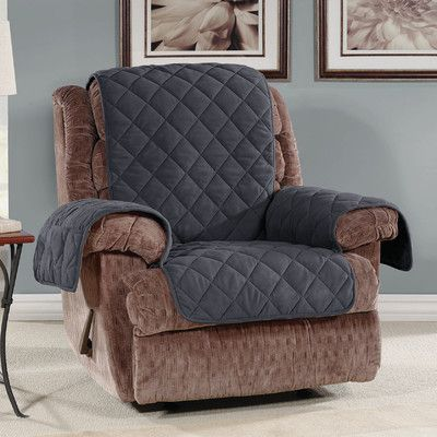 Sure Fit Recliner Slipcover Color Storm Blue & Sure Fit Recliner Slipcover Color: Storm Blue | Recliner slipcover ... islam-shia.org