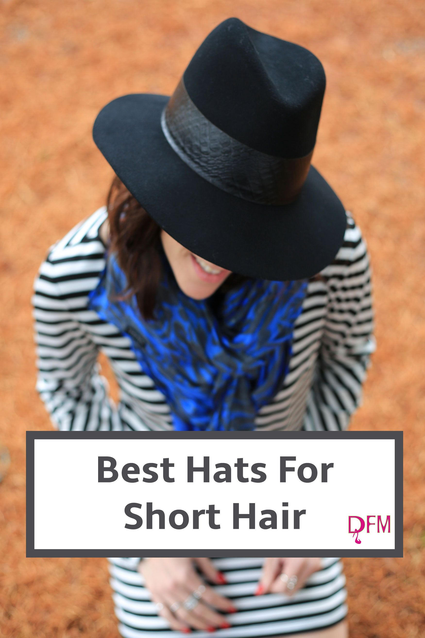 d687c23049eb1 Struggling to find just the right hat for short hair  In this post I discuss  several options and why they work. Click through to read.