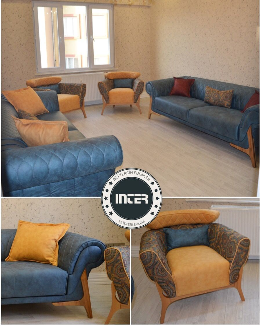 Songul Hanim Oturma Odasinda Rainbow Koltuk Takimimizi Tercih Etti Furniture Home Decor Couch