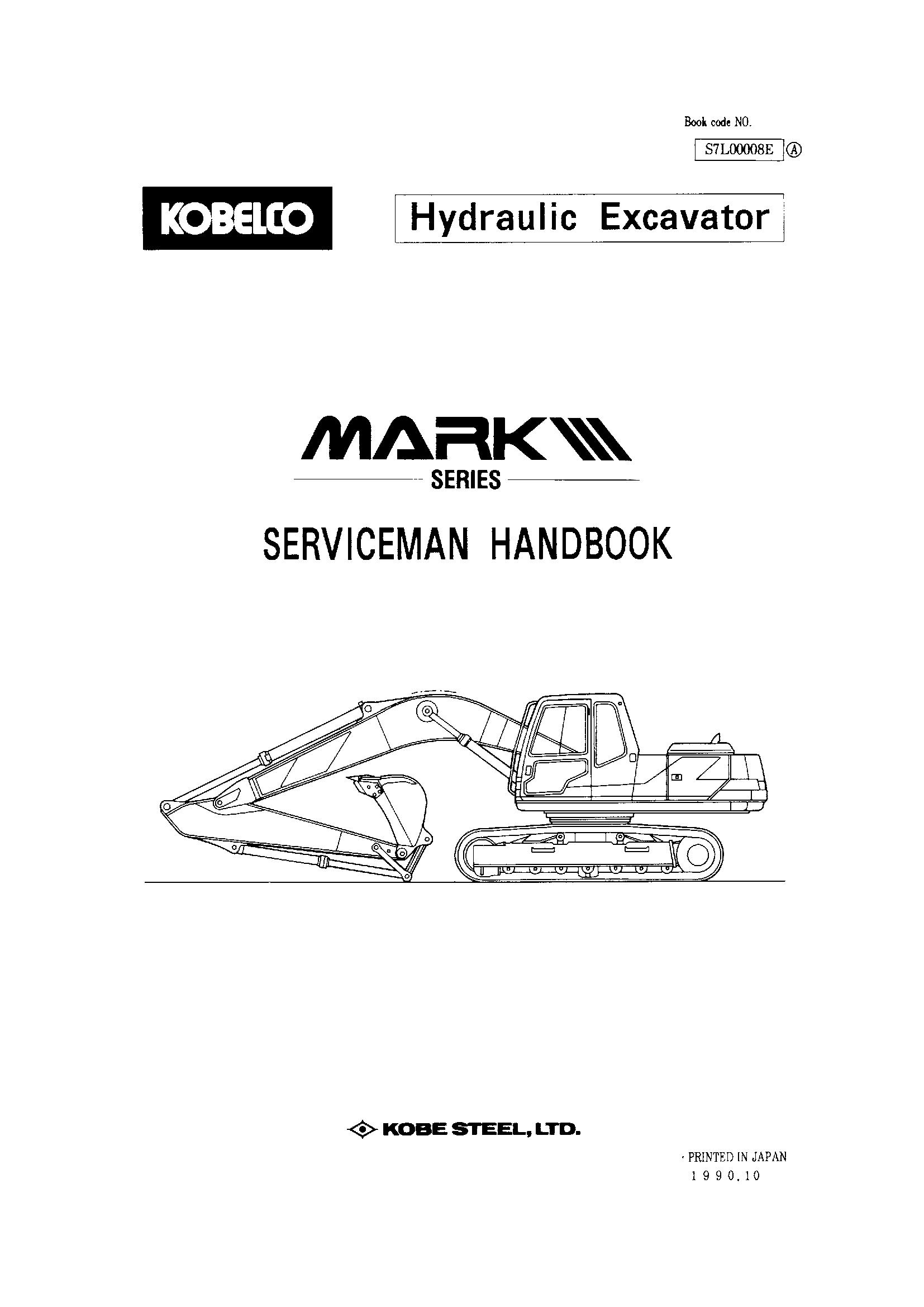 Kobelco Sk120 Manual In 2020 Repair Manuals Owners Manuals Manual