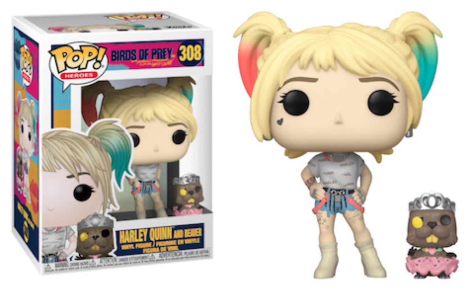 - n°307 Birds of Prey Roller Derby Figurine Pop Harley Quinn Vinyle