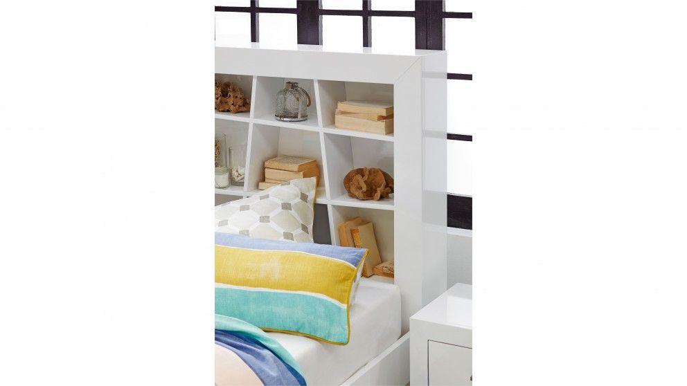 Contempo Queen Bed Beds Suites Bedroom Manchester Harvey Norman Australia