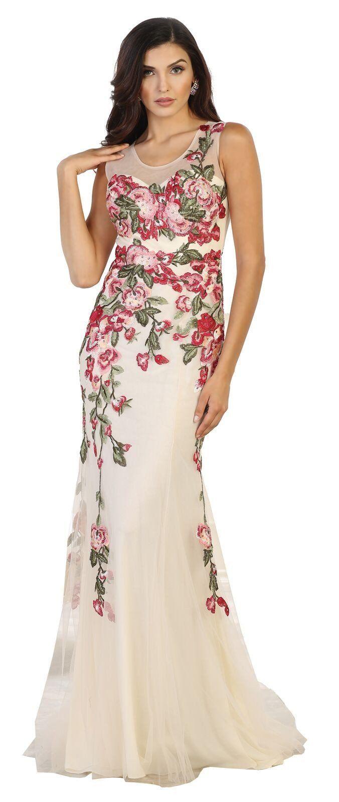 Garden Wedding Guest Dresses Plus Size