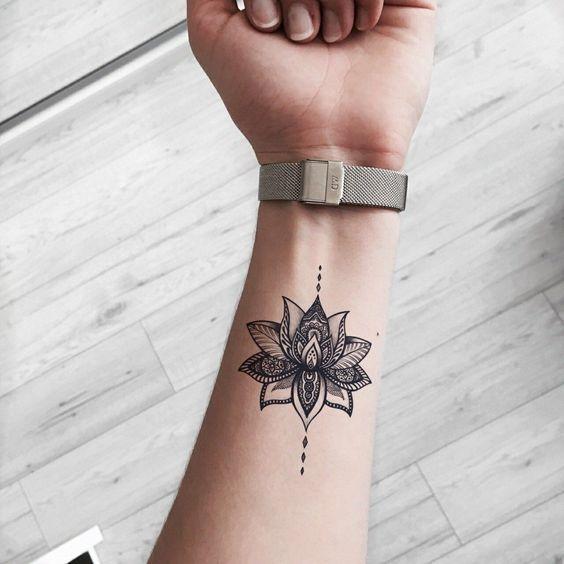 107 Tatuajes Mandalas Para Mujeres Tatuajes Mandalas
