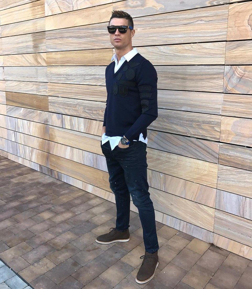 Криштиану роналду стиль одежды