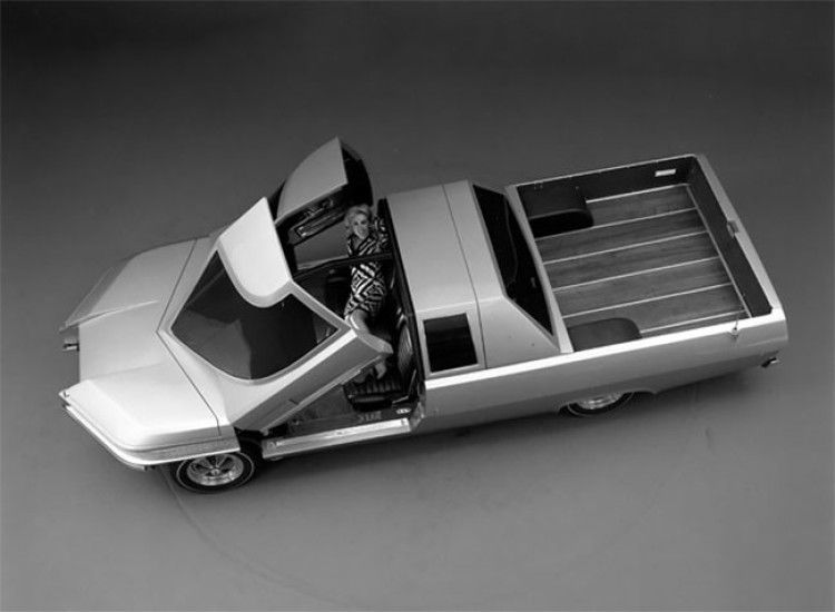 this futuristic 1966 ford ranger ii concept truck ford classic cars concept cars ford ranger this futuristic 1966 ford ranger ii