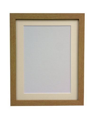 From 11.87 Frames By Post H7 Picture Photo Frame Wood Oak With Ivory ...
