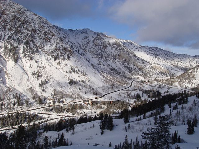 Photo 75 – Looking down Little Cottonwood Canyon, Utah  By Ryan Pringnitz  To vote for this photo, please leave a comment - including the photo number - on  http://www.wild-about-travel.com/2012/06/photo-contest-share-vote-favorite-pictures/