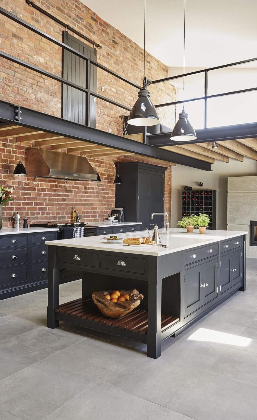20 Dream Loft Kitchen Design Ideas Industrial Kitchen Design Industrial Style Kitchen Loft Kitchen