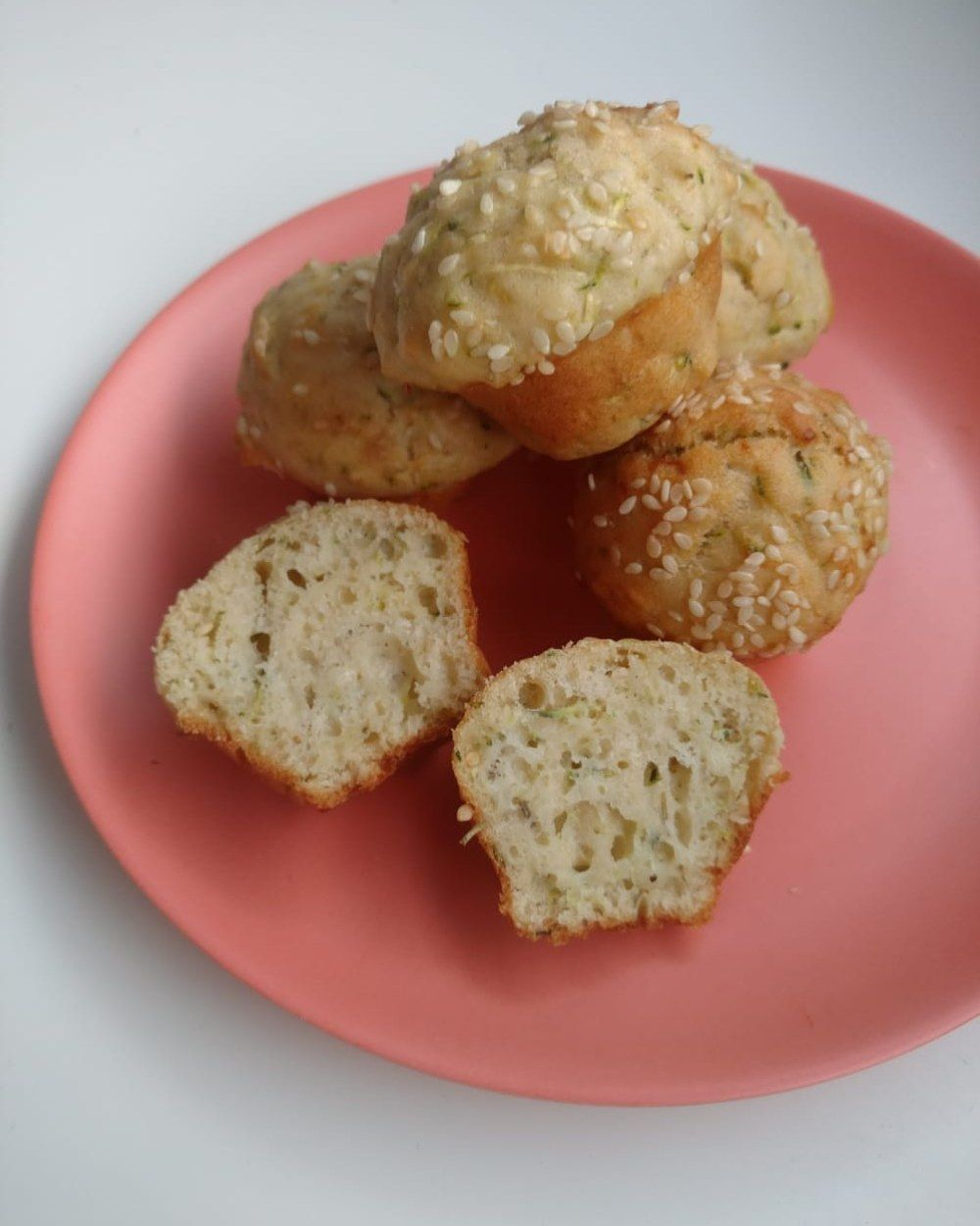 Courgette Sesame Seed Muffins With Images Muffins Courgette Recipes