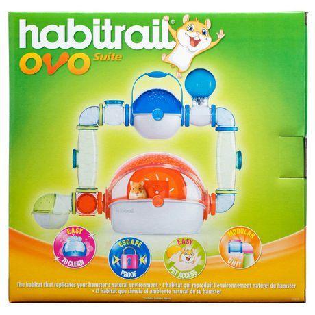 Living World Habitrail Ovo Suite Hamster Habitat Multi One