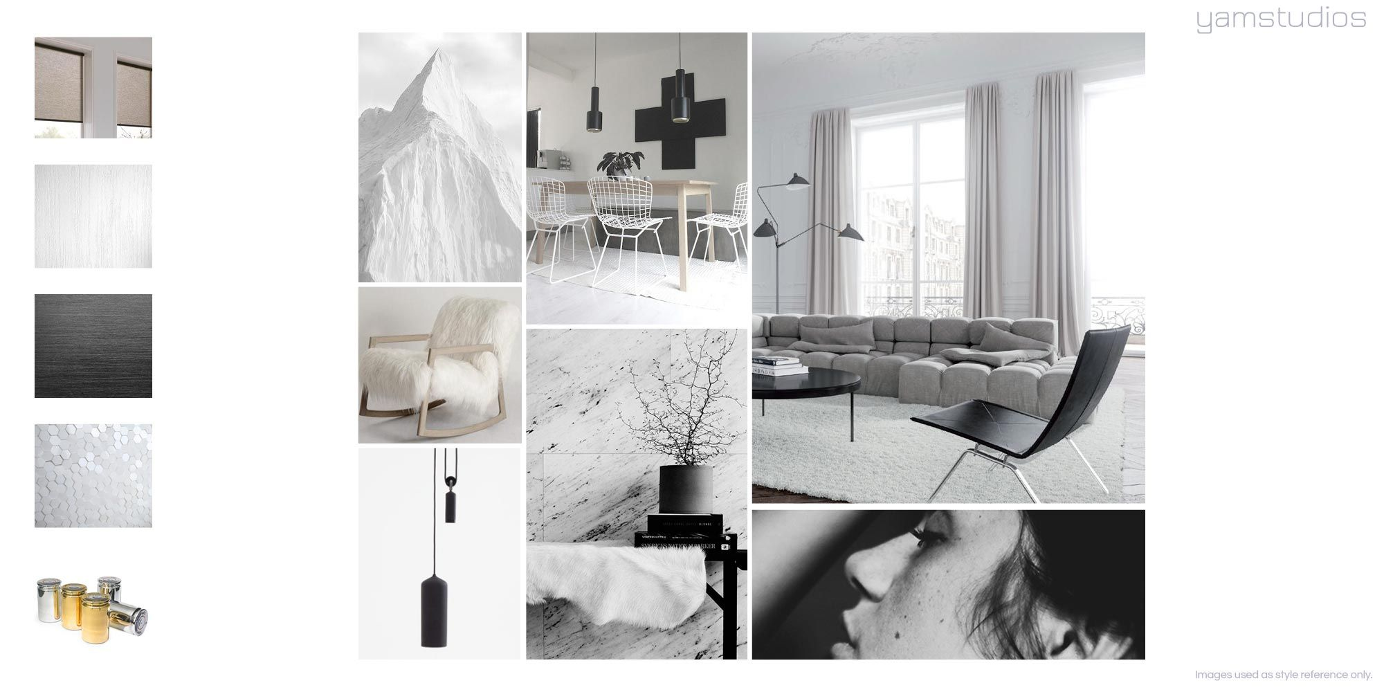 Minimal Mood Boards Minimal Interior Design London