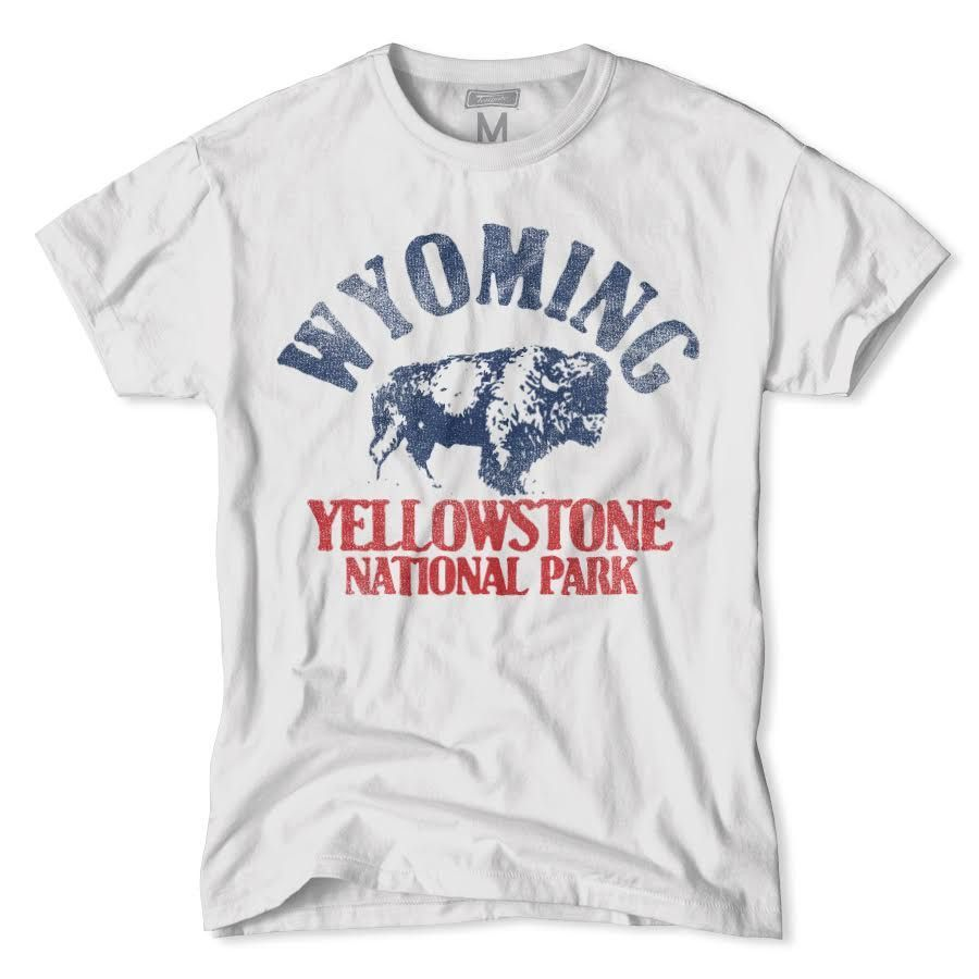 a01aa1ea37e Wyoming-Yellowstone National Park T-Shirt