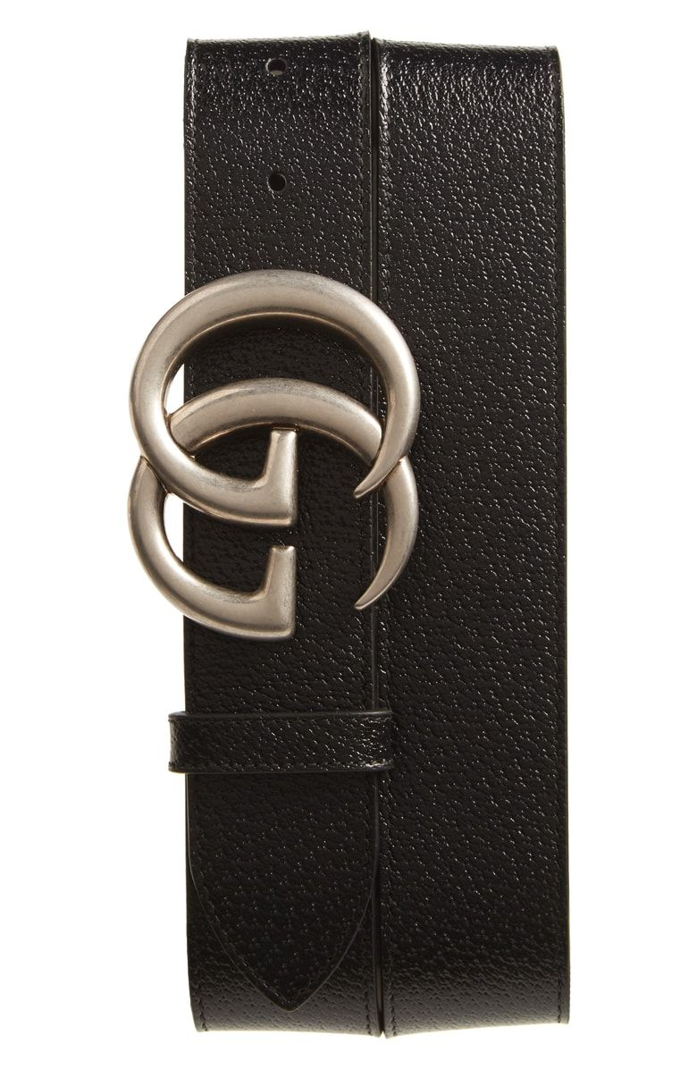 c298c9f93ad Free shipping and returns on Gucci GG Pebbled Leather Belt at  Nordstrom.com. Pre