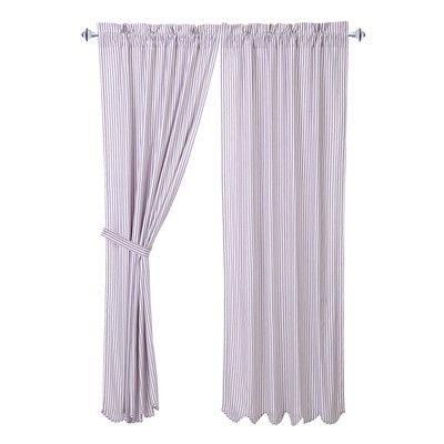 VHC Brands Josephine Curtain Panel Pair Color: