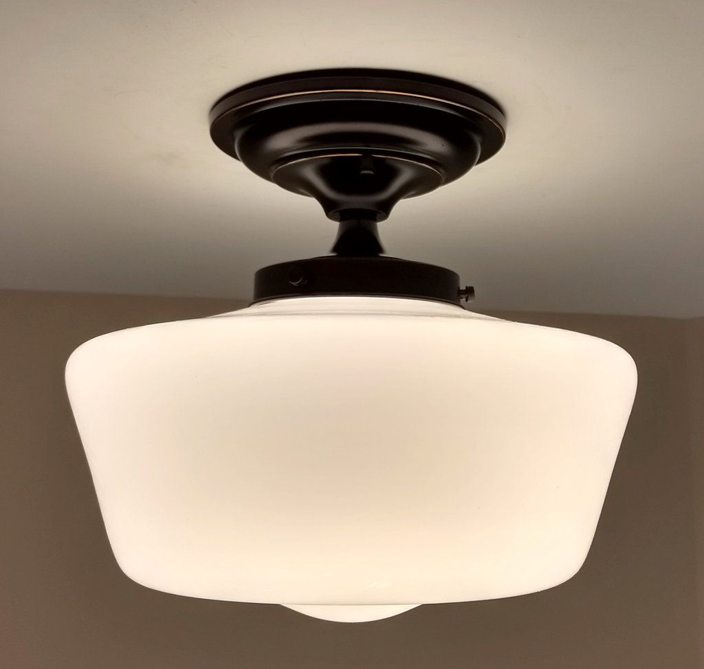 for pin dining schoolhouse light lights the and room ceiling