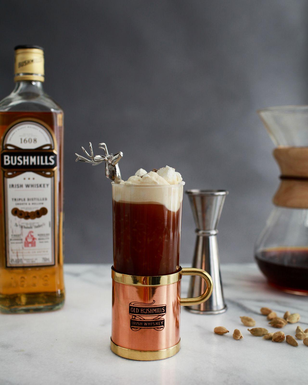 Signature Coffee Drinks Recipes: Signature Cocktail: Spiced Irish Coffee