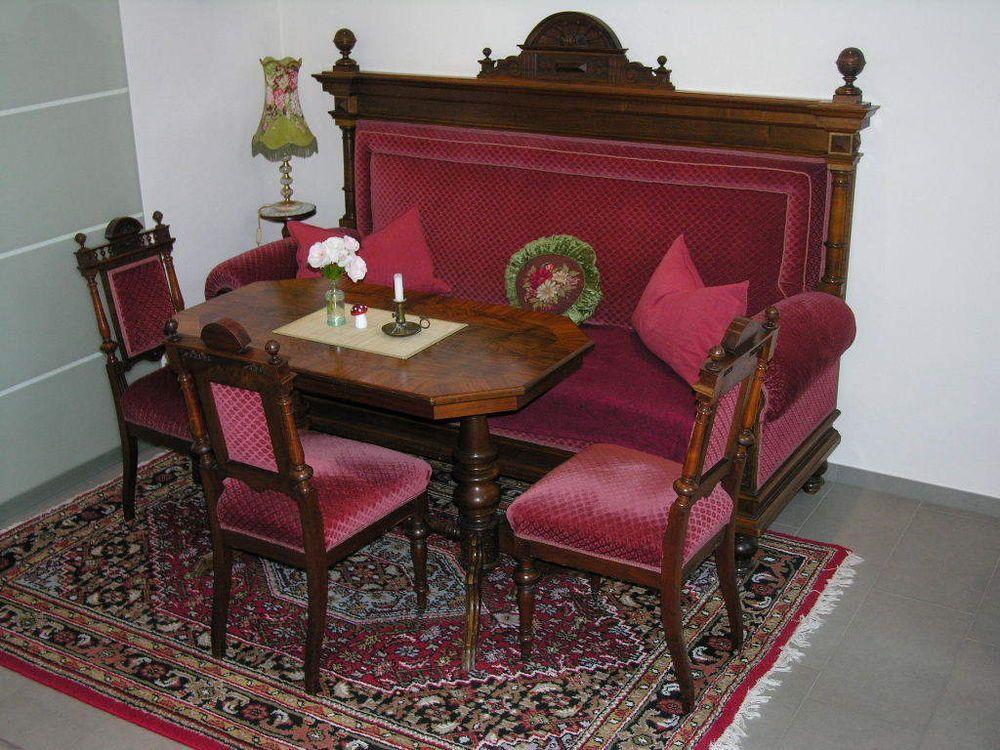 ORIGINALES GRNDERZEIT Wohnzimmer TOP Erhaltung In Antiquitten Kunst Mobiliar Interieur