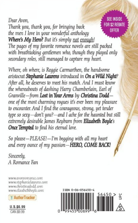 back cover for hero come back
