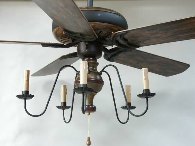 Unique Primitive Ceiling Fans