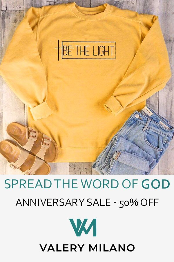 Cute Clothes with a Cause - Spread the Word of God and Give People Faith.