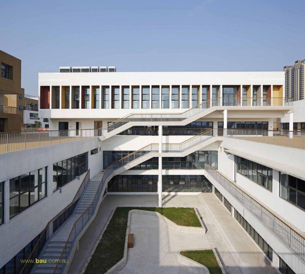 Jiangyin Primary & Secondary School / BAU Brearley Architects + Urbanists