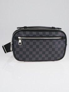 075ba55b1bb Louis Vuitton Damier Graphite Canvas Ambler Bag   Louis Vuitton Bags ...