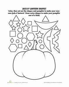 October Preschool Worksheets | Preschool halloween, Free preschool ...