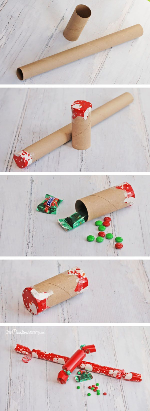 Christmas Crackers Stocking Stuffers - onecreativemommy.com