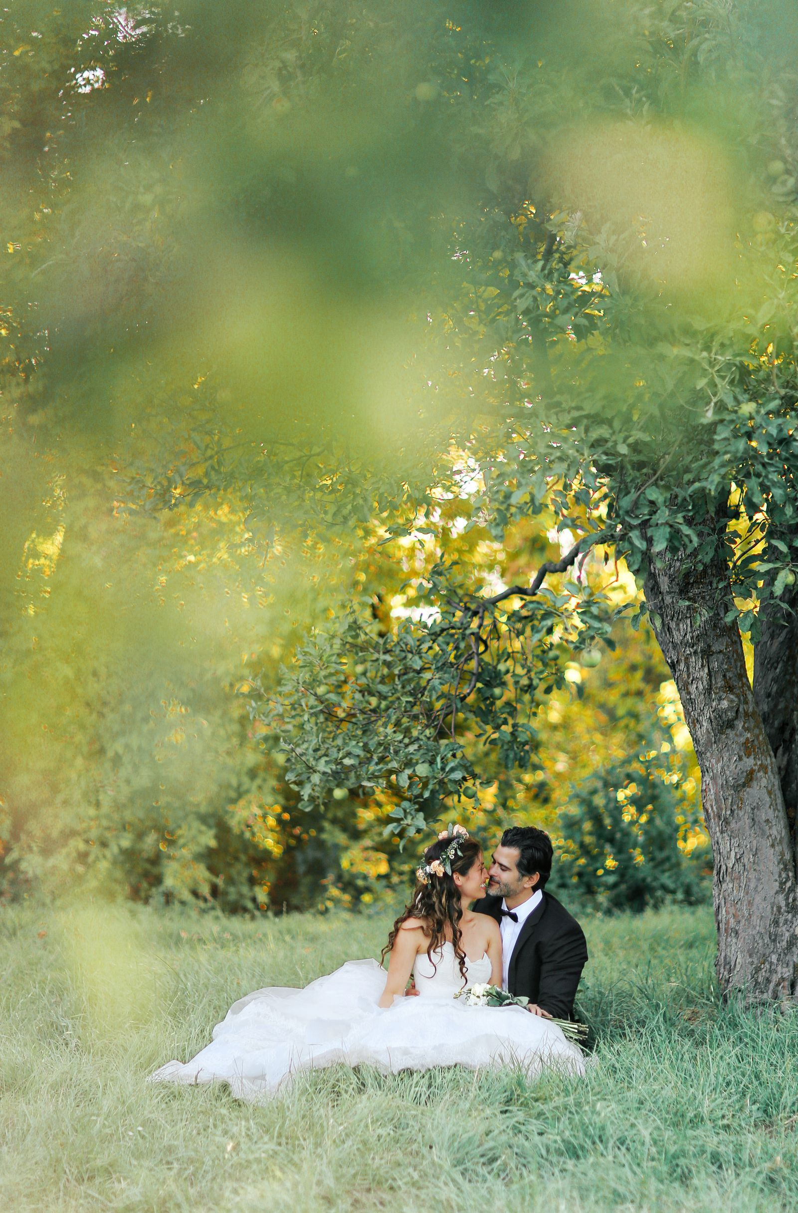 Day after session romantic rustic wedding wedding shoot