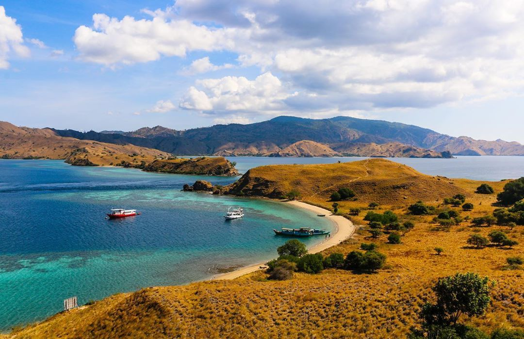 Komodo National Park, Flores Island, Indonesia in 2020