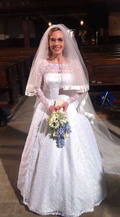 Call The Midwife Shelagh Wedding Dress