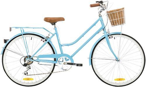 Reid Ladies Classic Petite 7 Speed 24 Wheel Vintage Bike