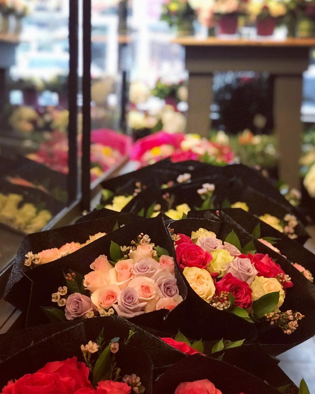 Hip Trendy Our Oakville Flower Store Has The Best Flowers And Roses For Valentine S Day And Is Always Full Of Little Gif Flower Store Amazing Flowers Flowers