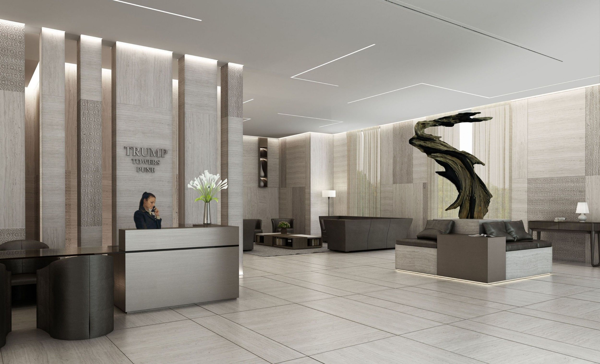Top Interior Design Trump Towers Pune 110