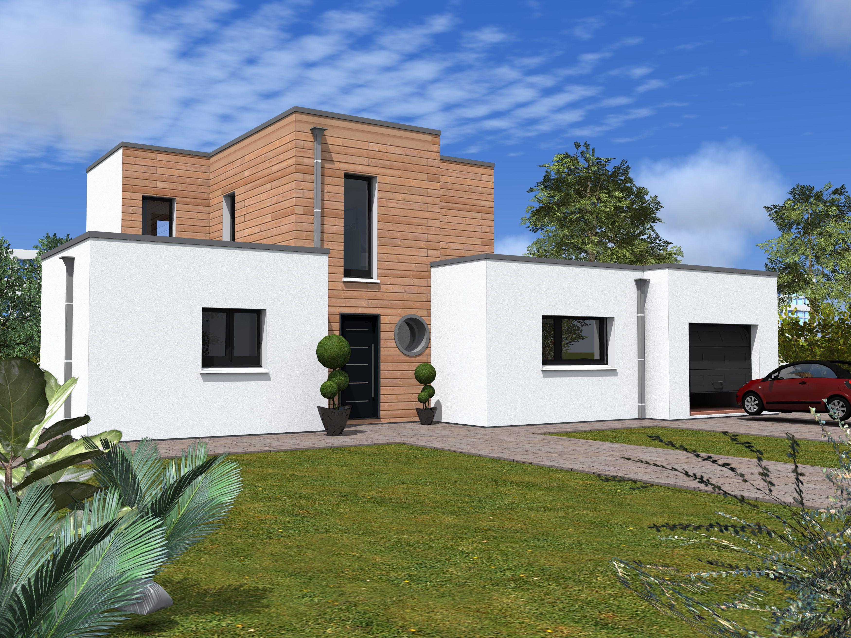 Modele facade maison for Modele facade maison