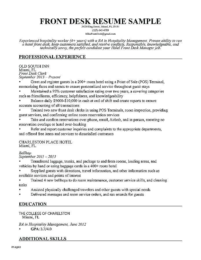 resume for receptionist job receptionist job description