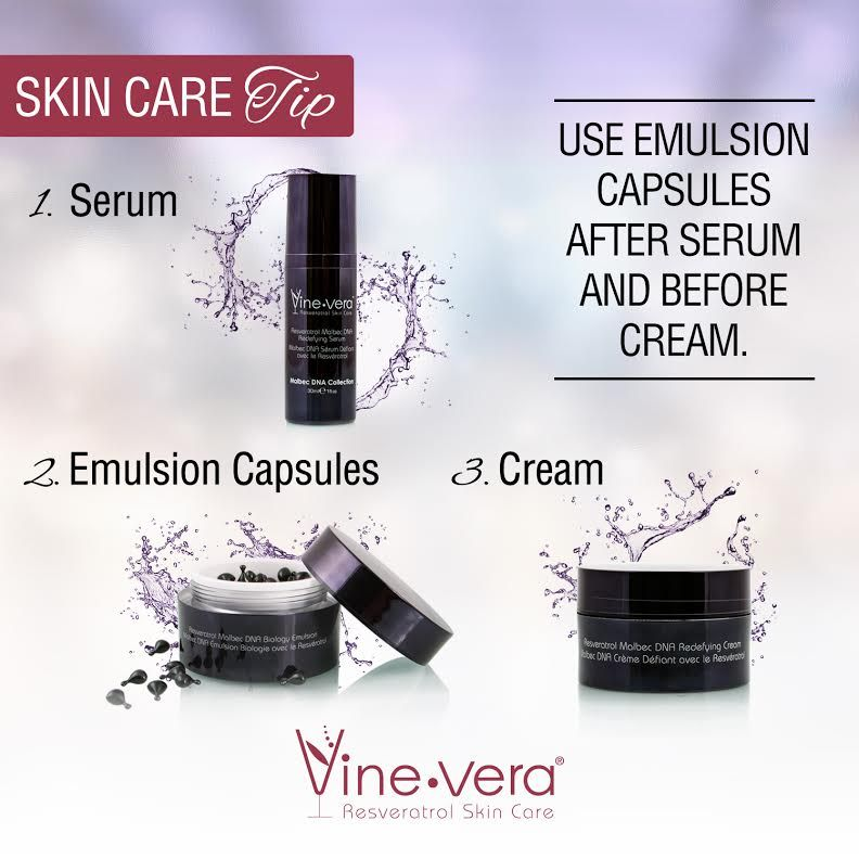 Use your skin care products in the right sequence Skin