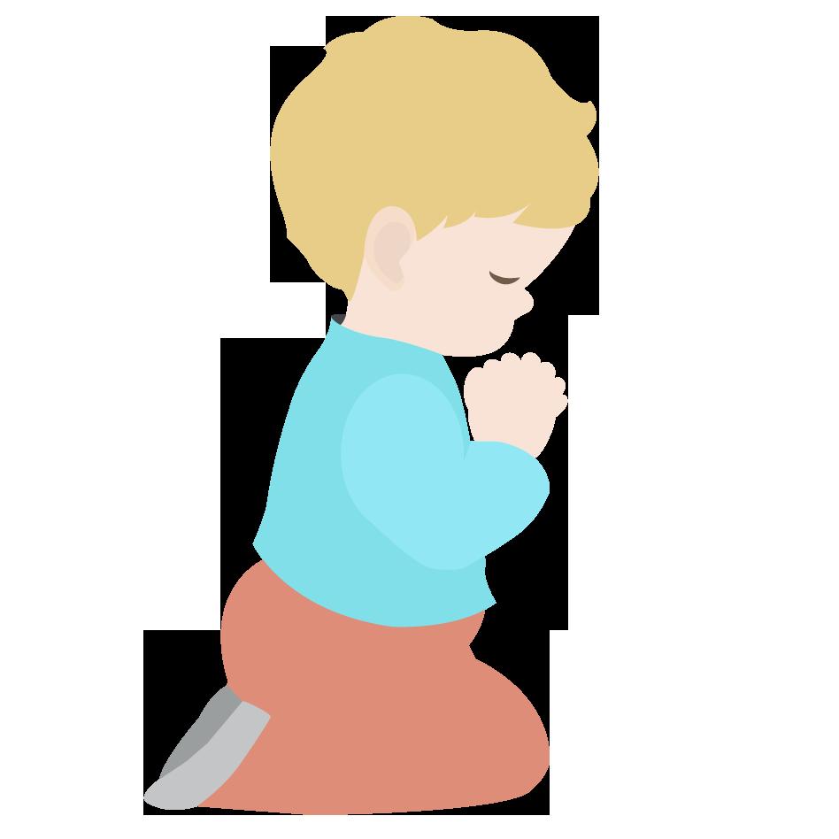 Pray First Clip Art