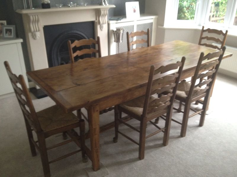 Dining Table And 6 Chairs For Sale In Northampton Available On Car Boot More Tables Stands