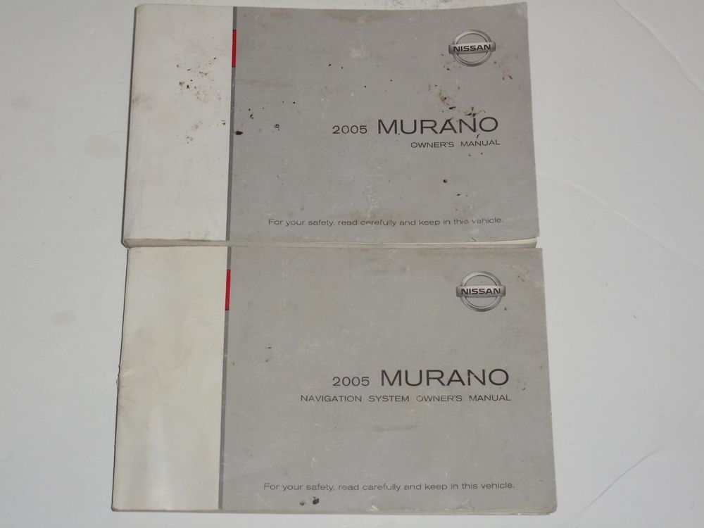 2005 nissan murano owners manual and navigation system manual rh pinterest com 2005 nissan murano service manual 2005 nissan murano repair manual pdf