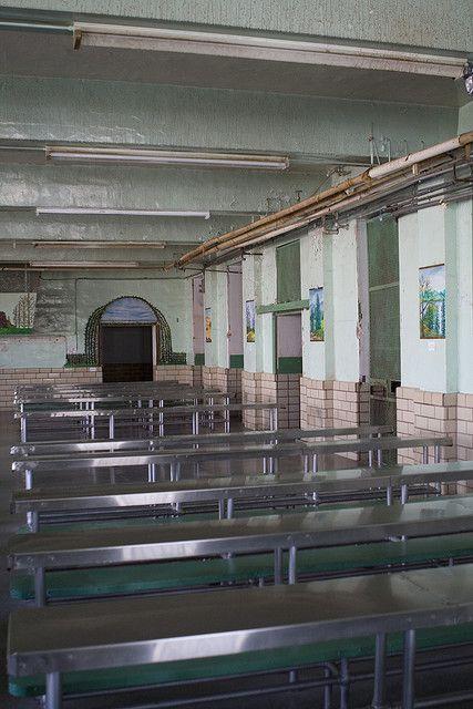 Cafeteria Prison Cafeteria Asylum Modern Fantasy Story