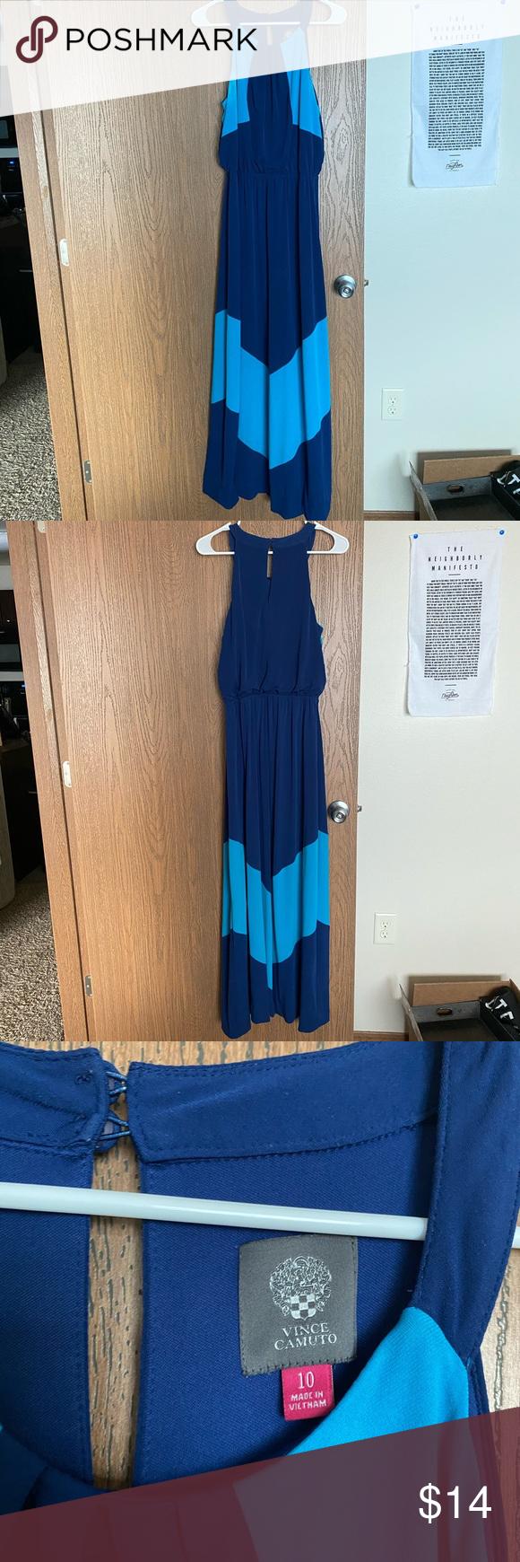 Vince Camuto Maxi Dress Clothes Design Dresses Maxi Dress [ 1740 x 580 Pixel ]