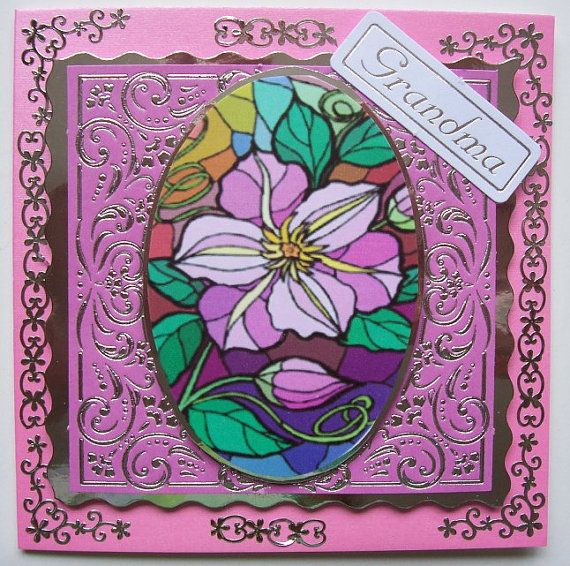 Card for Your Grandma by SACards on Etsy, £3.50