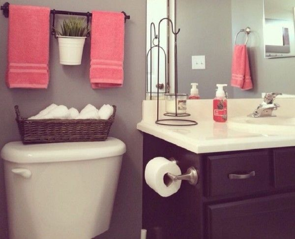 Small Bathroom Ideas That Will Change Your Life Small - Purple bath towels for small bathroom ideas
