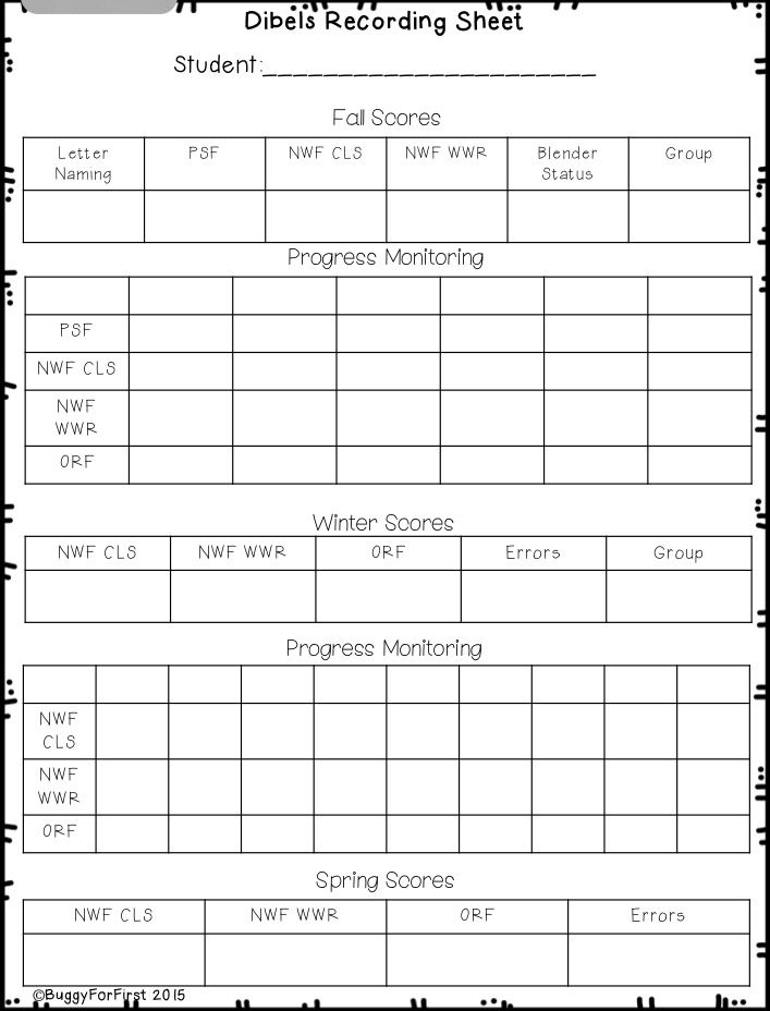 Parent Teacher Conference Forms \ Progress Report Forms (English - student progress report template